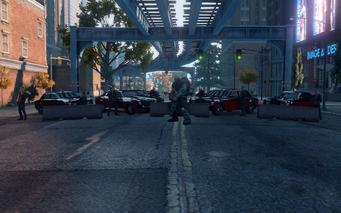 SRTT Roadblock - Morningstar level 5 - large