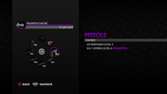 Weapon Cache in Saints Row The Third