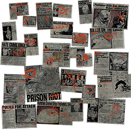 File:Kinzie's Warehouse - background newspaper clippings.png