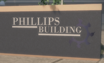 Phillips Building Sign