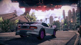 Raycaster - rear right in Saints Row IV