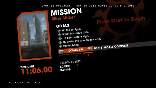 File:Saints Row Money Shot Mission objectives - Biker Striker - 3 of 3 goals screen.png
