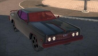 Bootlegger - front right in Saints Row 2
