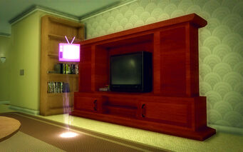 Saints Row Mega Condo - Average - 24 inch TV