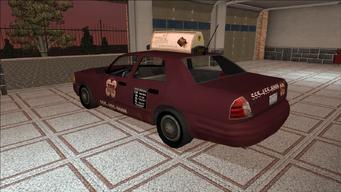 Saints Row variants - Taxi - TNA - rear left