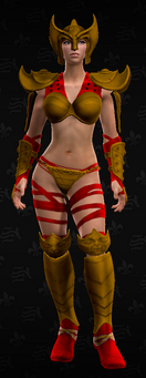 SRTT Outfit - warrior princess (female)