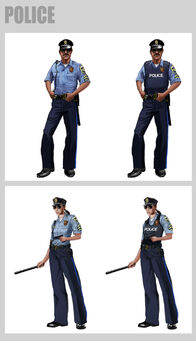 Saints Row 2 Police Concept Art