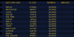 Airport Screen flights co