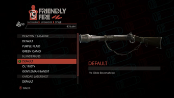 Weapon - Shotguns - Pump-Action Shotgun - Blunderbuss - Default