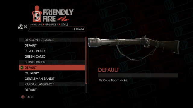 File:Weapon - Shotguns - Pump-Action Shotgun - Blunderbuss - Default.png
