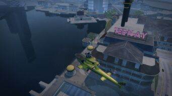 Tee'N'Ay - aerial view in Saints Row 2