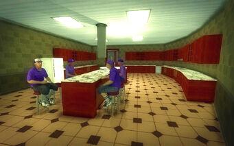 Saints Row Mega Condo - Pimp - kitchen