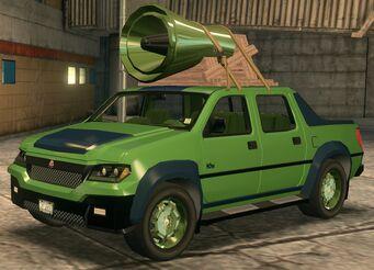 Torbitron - recoloured green