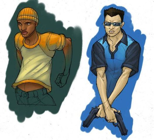 File:Saints Row - Character Concept Art - male sketches coloured.jpg