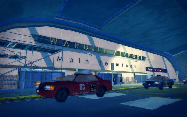 File:Wardill Airport building - front entrance.jpg
