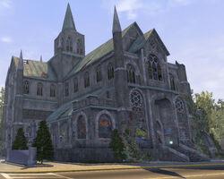 Saints Row Church - north east exterior in Saints Row
