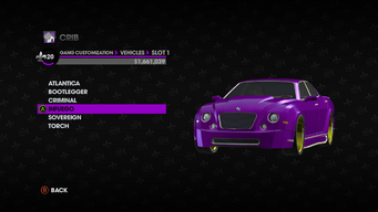 Gang Customization in Saints Row The Third - Infuego