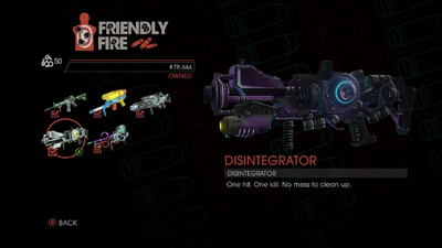 Weapon - Rifles - Disintegrator - Main
