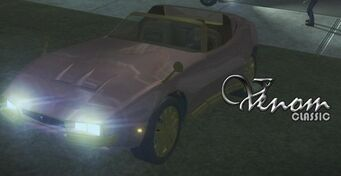 Venom Classic - front left with lights and logo in Saints Row 2