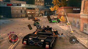 Crusader - Reward variant in Survival