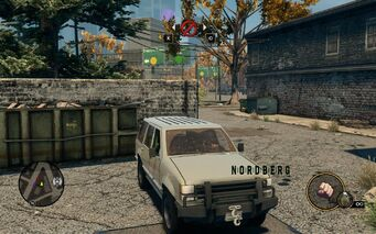 Nordberg - front right with logo in Saints Row The Third
