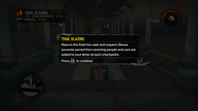 Trail Blazing tutorial in Saints Row 2