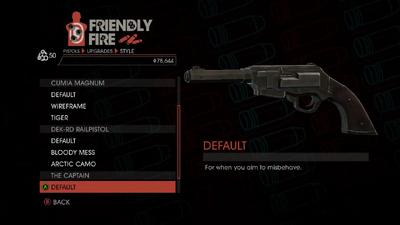 Weapon - Pistols - Heavy Pistol - The Captain - Default