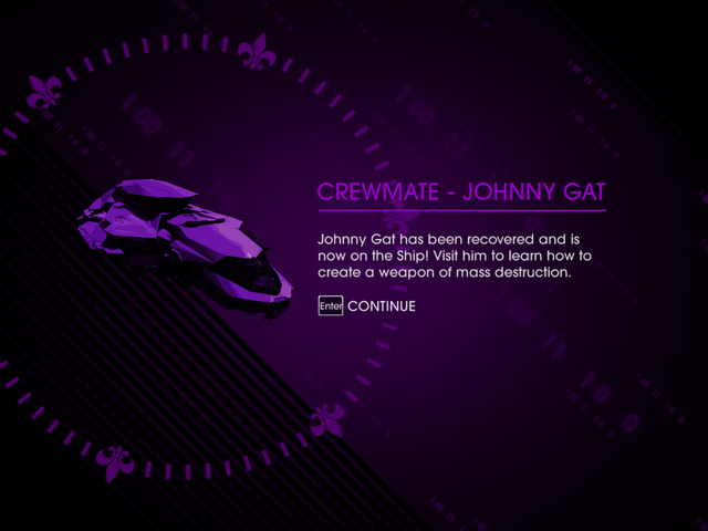File:Welcome Back - Crewmate Johnny Gat unlocked.png