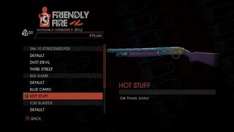 Weapon - Shotguns - Semi-Auto Shotgun - Big Game - Hot Stuff