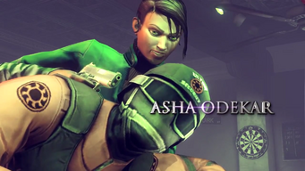 Asha Odekar Saints Row IV War for Humanity trailer name displayed