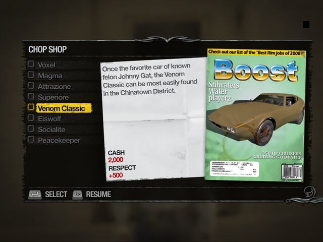 File:Venom Classic - Truckyard Chop Shop list in Saints Row 2.jpg