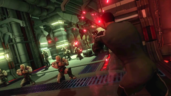 Saints Row IV Announce Teaser - unknown laser pistol with sight