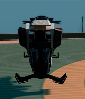 Saints Row The Third DLC vehicle - Ultor Interceptor - parked - rear
