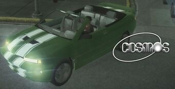 Cosmos with headlights - front left in Saints Row 2