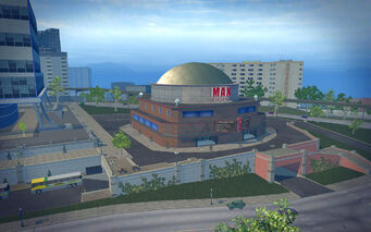 Humbolt Park in Saints Row 2 - Max Visions aerial view