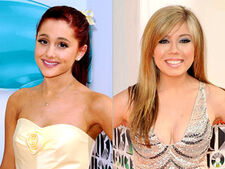 Ariana & Jennette at 2012 KCAs