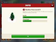 Festive tree level 3