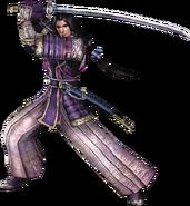Mitsuhide Akechi SW2 render