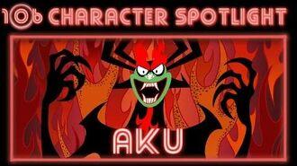 "Samurai Jack Aku Spotlight ""Shape shifting Master of Darkness!"""