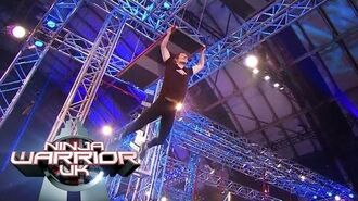 Is it an uneven bridge too far for Teige? Ninja Warrior UK-0