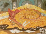 Smaug by Tolkien