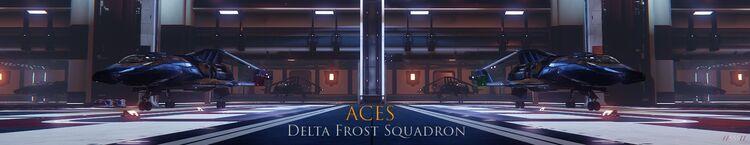 Delta frost banner