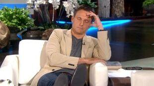 Tony Goldwyn Falls Asleep During His Interview