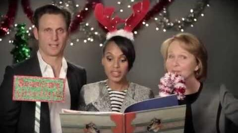 A Holiday Message From the Cast of SCANDAL
