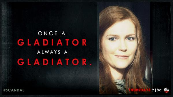 """4x13 - Abby """"Once a Gladiator"""""""