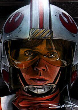 Luke skywalker x wing by rsiplon-d371rr7