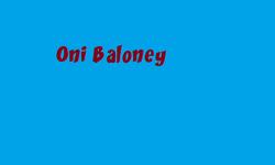 Oni Baloney titlecard