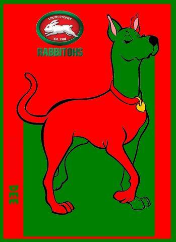 File:NRL Grand Final Scooby Dee South Sydney Rabbitohs.jpg