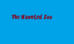 The Haunted Zoo titlecard