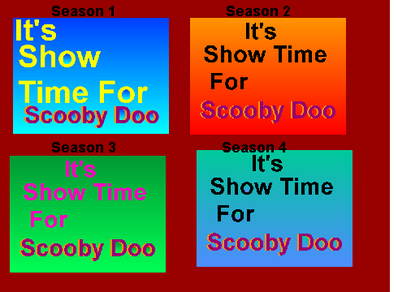 Its Show Time For Scooby Doo